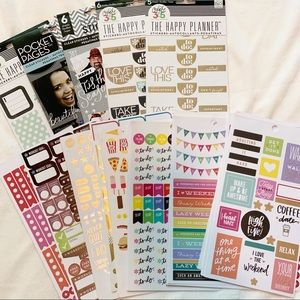 Variety of Planner Stickers